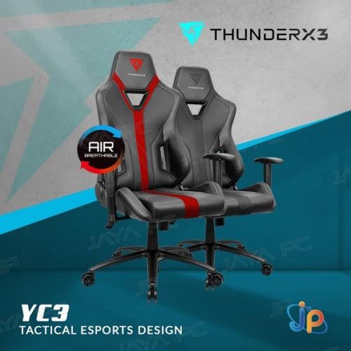 Foto Produk ThunderX3 YC3 Gaming Chair - kursi gaming - Merah dari Jaya PC