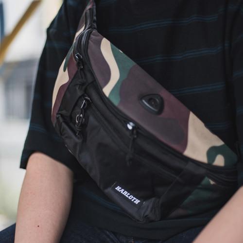 Foto Produk Tas Waist Bag Pria Zest Army / Sling Bag / Selempang HARLOTH dari HARLOTH OFFICIAL