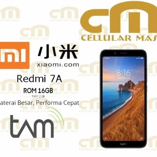 Foto Produk Xiaomi Redmi 7A 2/16 RAM 2GB ROM 16GB GARANSI RESMI TAM⠀ dari Turbulensia