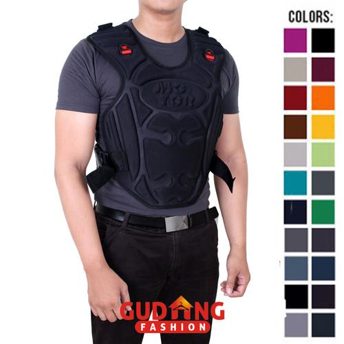 Foto Produk Rompi Pelindung Dada Pengendara Motor MTR 344 - Hitam A dari Gudang Fashion