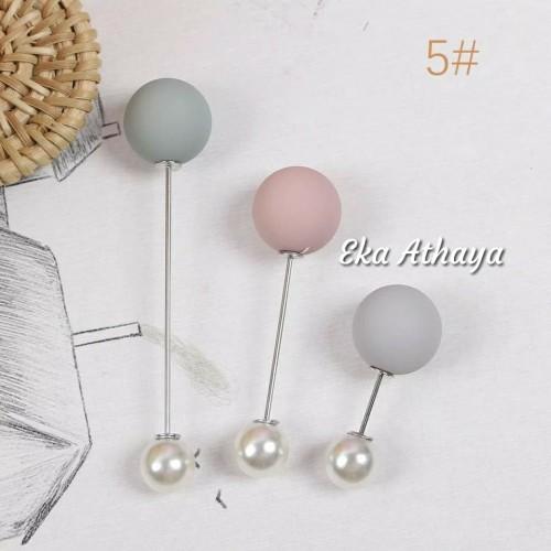 Foto Produk tuspin hijab Bros aksesoris jilbab Dove colour full dari Eka Athaya