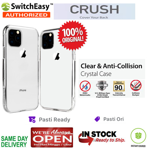 Foto Produk iPhone 11 / 11 Pro / 11 Pro Max Case Switcheasy CRUSH Air Barrier - iPhone11ProMax dari Spigen Indonesia