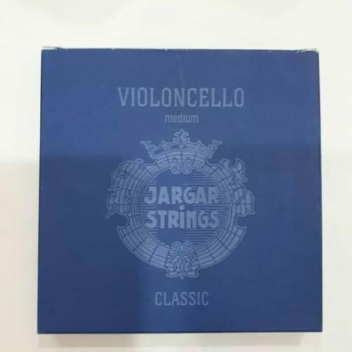 Foto Produk senar cello Jargar blue 1 set isi 4 cello string medium violoncello dari Kreisler Shop