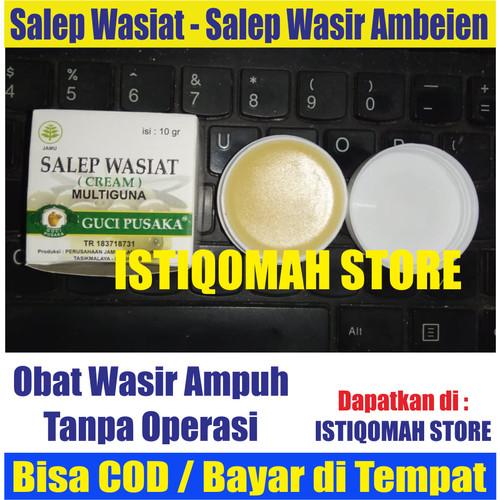 Foto Produk Obat Salep Wasir Ambeien Luar Tanpa Operasi Alami Aman - SALEP WASIAT dari Istiqomah-Store