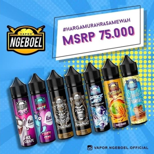 Foto Produk Ngeboel 60ml 3mg by Lab 51 - space jam, 3mg dari forever 555
