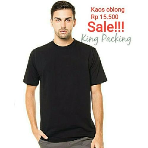 Foto Produk Baju Kaos Polos Oblong Pria Wanita Grosir - Kuning dari King Packing