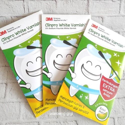Foto Produk 3M Clinpro White Varnish Pencegah Karies dan Perawatan Gigi Sensitif dari Waroeng Gigi