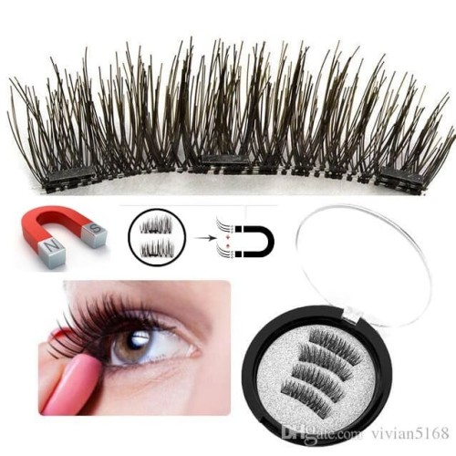 Foto Produk 3D Triple magnetic eyelashes / bulu mata palsu magnet / fake eyelash dari Urban Collections