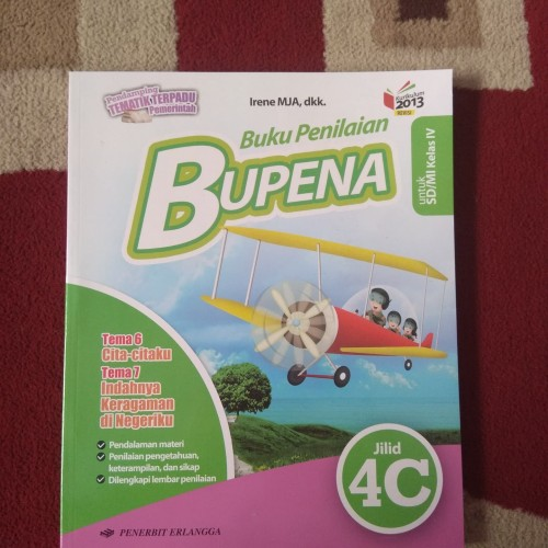 Foto Produk BUPENA KELAS 4C SD PENERBIT ERLANGGA dari Toko Buku Lestari
