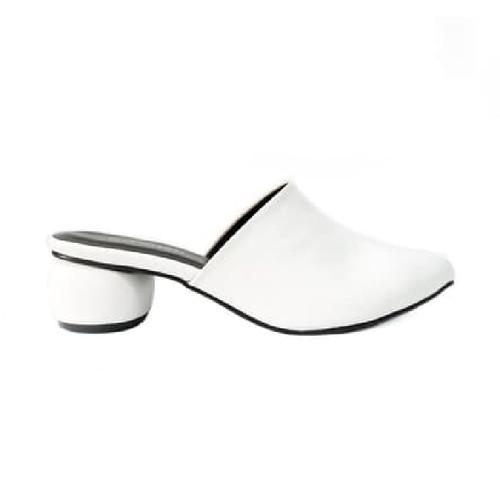 Foto Produk Heels Wanita Genie Heels White/Khaki - 36 dari Nakedsol