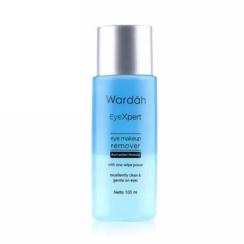 Foto Produk wardah eyeXpert eye & lip makeup remover 100 ml dari hangvalen