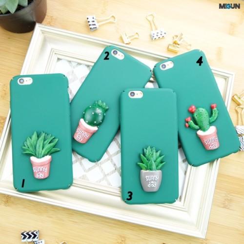 Foto Produk Cactus Case iPhone Hardcase Full cover dari Laris Minis