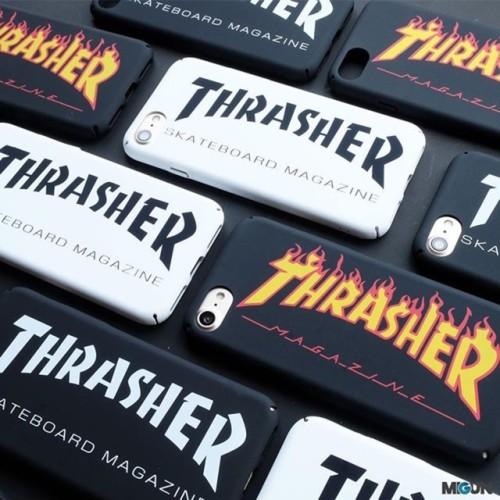 Foto Produk THRASHER hardcase full cover doff for iPhone 5 5s SE 6 6s 6 6s 7 dari Laris Minis