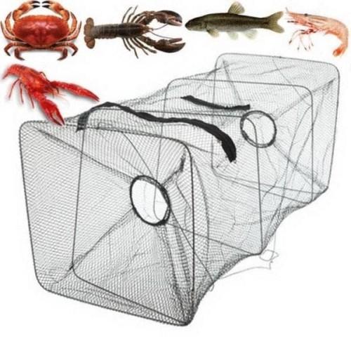 Foto Produk BUBU jaring perangkap ikan udang kepiting lobster 2 lubang Lipat 6194 dari lbagstore
