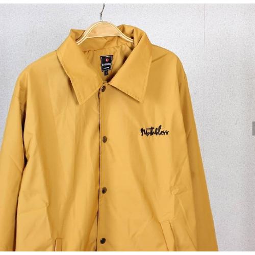 Foto Produk Coach Jacket / Jaket Pria / Jaket Motor / Jaket Waterproof / Jaket - Kuning, M dari Almondshop_
