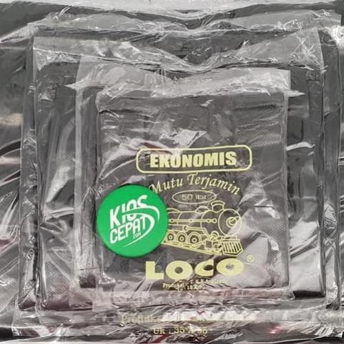 Foto Produk Kantong Plastik Hd Loco Ekonomis Hitam Uk 28 dari LessiShop9