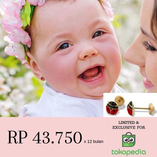 Foto Produk Anting Bayi Ladybug | Imitasi Greco Barcelona dari Penjualan Terbaik