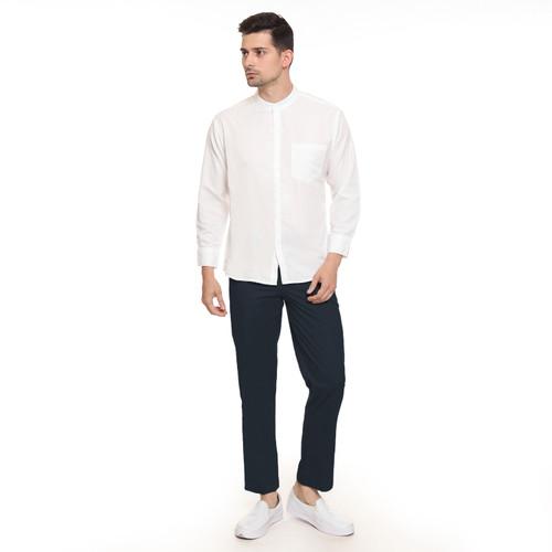 Foto Produk Celana Chino casual Pria kantor - Jfashion Andre - Navy, M dari j--fashion