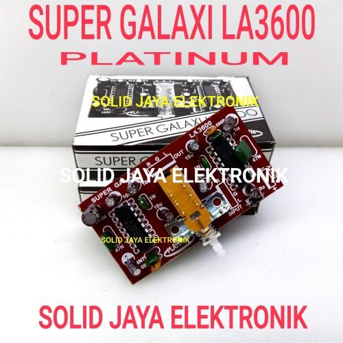 Foto Produk KIT SUPER GALAXI LA3600 2 IC GALAXY 2 IC PLATINUM SUPER BASS TREABLE dari Solid Jaya Elektronik
