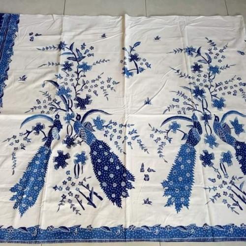 Foto Produk Kain Batik Tulis motif Bangau latar Putihan motif Biru (270319) dari KayLa Batik