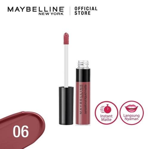 Foto Produk 06 BEST BABE MAYBELLINE Color Sensational Liquid Matte Lip Tint dari Galeri Bunda Indonesia