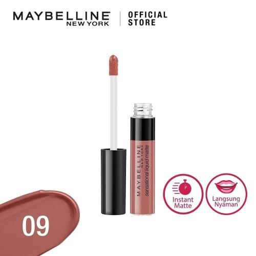 Foto Produk 09 TRULY MLBB MAYBELLINE Color Sensational Liquid Matte Lip Tint dari Galeri Bunda Indonesia