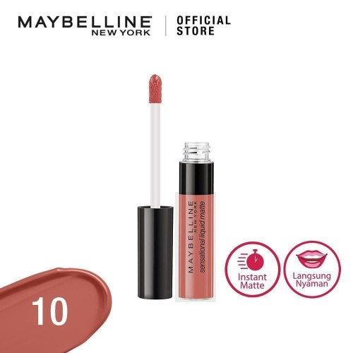 Foto Produk 10 BDAY SUIT ON MAYBELLINE Color Sensational Liquid Matte Lip Tint dari Galeri Bunda Indonesia