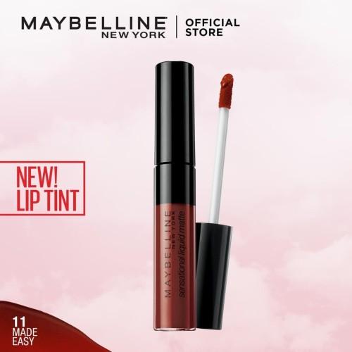 Foto Produk 11 MADE EASY MAYBELLINE Color Sensational Liquid Matte Lip Tint dari Galeri Bunda Indonesia