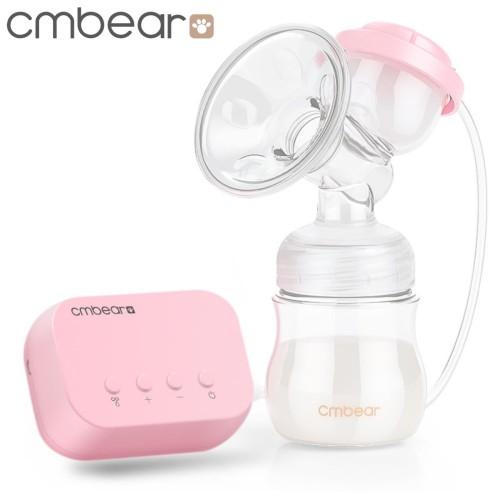 Foto Produk [Colok Listrik USB] Cmbear Pompa ASI Elektrik Single Breast Pump Z0821 - Pink, Garansi 2 Bulan dari amc_shop