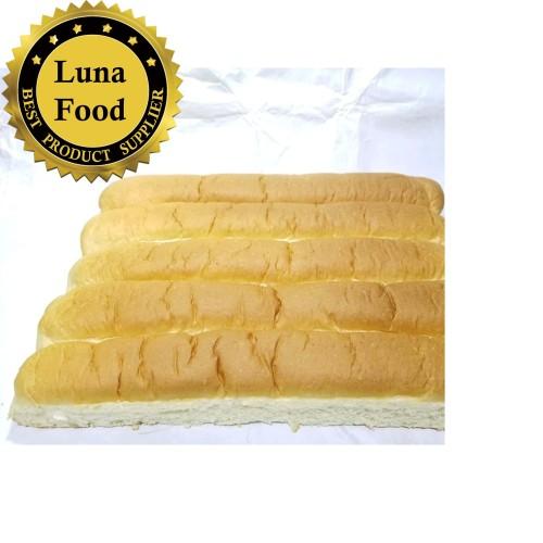Foto Produk Roti John Jumbo 40cm isi 5pcs Roti Lembut dan Gurih dari roti luna