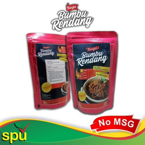 Foto Produk Bumbu Rendang Bangkit Khas Minangkabau - Bumbu Masak Instant Non MSG dari SPU Official