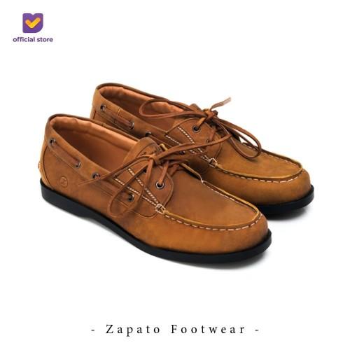 Foto Produk Sepatu Boat Shoes Pria Footstep Footwear - Zapato 0.9 (Leather) - 40 dari Footstep Footwear