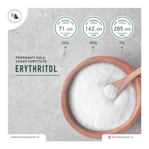 Foto Produk ERYTHRITOL REPACKED 500GR dari naturesmarket