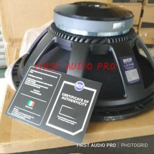 Foto Produk Speaker WOOFER RCF L18P400 / L 18P400 / L 18 P400 18inch GRADE A dari First Audio Pro