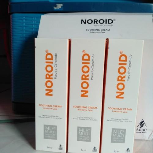 Foto Produk Noroid Soothing Cream 80 ml / kulit kering, Dermatitis atopik dari Cethapil