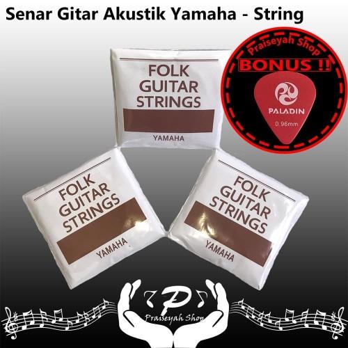 Foto Produk Yamaha Senar Gitar Akustik String Original Guitar Accoustic Folk dari PraiseyahShop