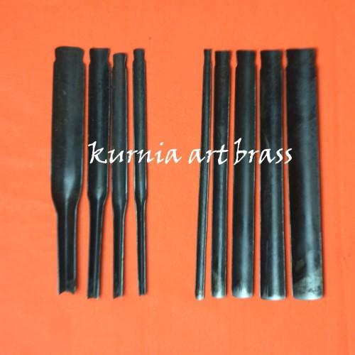 Foto Produk Alat pahat Tatah ukir kayu 4 coret 5 kol PROMO murah dari kurnia art brass