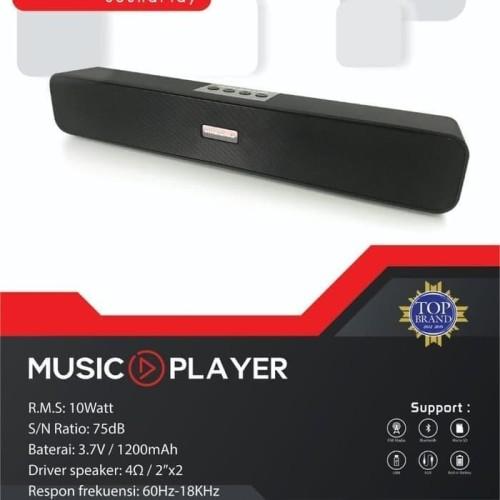 Foto Produk SPEAKER CST 350 N   CST 350N Bluetooth USB AUX FM RADIO SIMBADDA dari maru maru comp