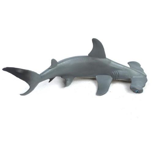Foto Produk Mainan Model Hewan Ikan Hiu Kepala Martil Tampak Asli Bahan Plastik So dari Random Shop B