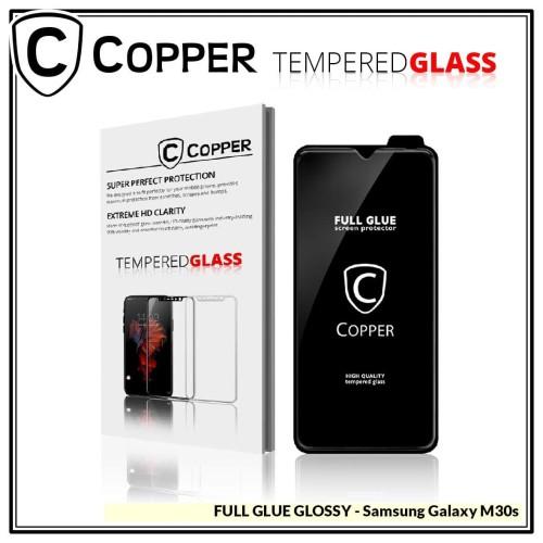 Foto Produk Samsung M30s - COPPER Tempered Glass Full Glue PREMIUM Glossy dari Copper Indonesia