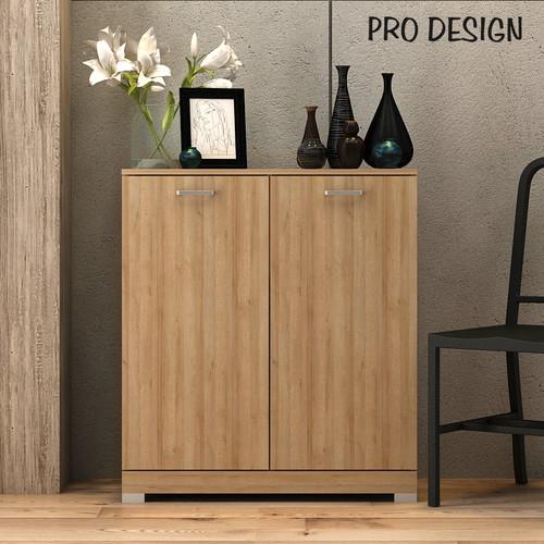 Foto Produk Pro Design Lanev Bufet Dengan 2 Pintu - Yellow Oak dari Pro Design