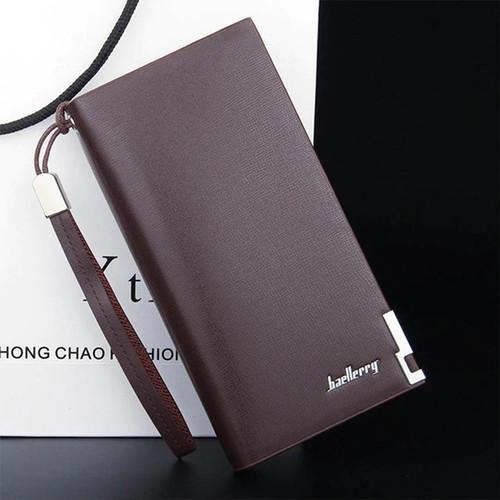 Foto Produk Dompet Kulit Pria Baellerry Casual Perfect Design Quality - Coklat dari toko25jam