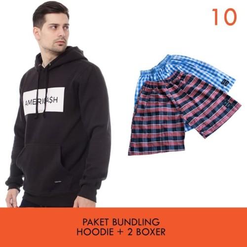 Foto Produk Cottonology Paket Bundling B Jaket + 2 Boxer - L dari Cottonology Indonesia