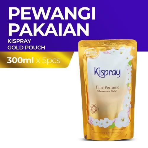 Foto Produk Kispray Refill Pouch Glamorous Gold 300Ml 5X dari Enesis Official Store