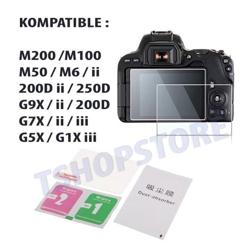 Foto Produk Tempered Glass Kamera for Canon 250D M200 M100 M50 200D Mark II M6 II dari TshopStore