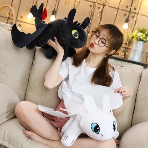 Foto Produk Boneka How To Train Your Dragon / Boneka Anak Plush Toys Toothless dari OyaOna Shop