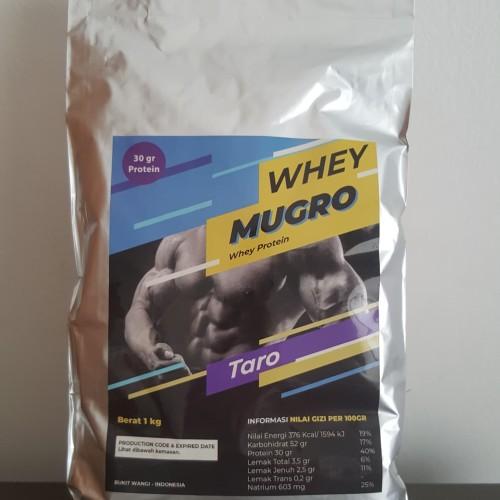 Foto Produk whey protein mugro taro 1 kg dari Toko Virall