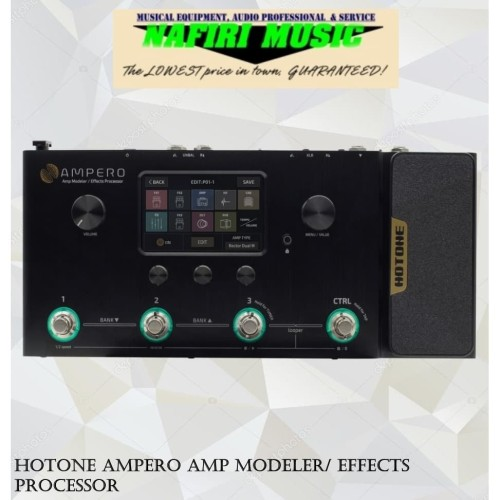 Foto Produk Hotone Ampero Amp Modeler/ Effects Processor dari Nafiri Music Store
