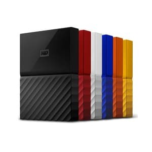 Foto Produk HDD Eksternal Western Digital WD My Passport 2TB USB 3.0 - WD 2TB - Putih dari Jv. Shop