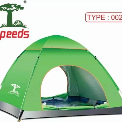 Foto Produk Ada Tenda Camping Outdoor Pantai Dewasa Otomatis 3-4 Orang dari kinakino9